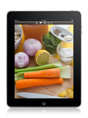 The Cook's Encyclopedia für iPhone und iPad und als Buch